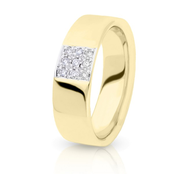 Pfeffinger Diamantring Gold 14940